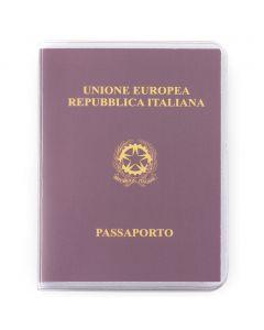 PASSPORT - Reisepasshülle aus transparentem PVC