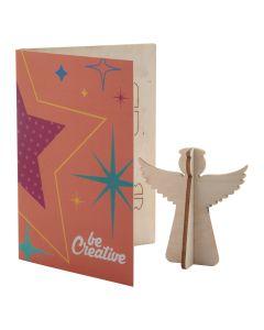CREAX - Weihnachtskarte, Engel