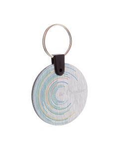 ALUUDY A - Schlüsselanhänger (rund)
