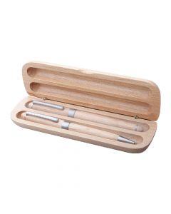 NAWODU - Kugelschreiber Set aus Holz