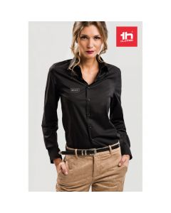 THC PARIS WOMEN - Damen Popelin Bluse