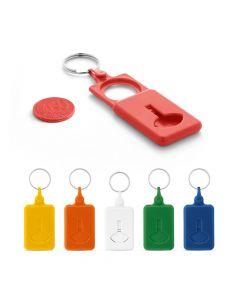 BUS - Schlüsselanhänger mit Einkaufschip